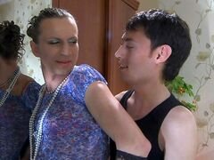 Jack&Horatio crossdresser gay on video
